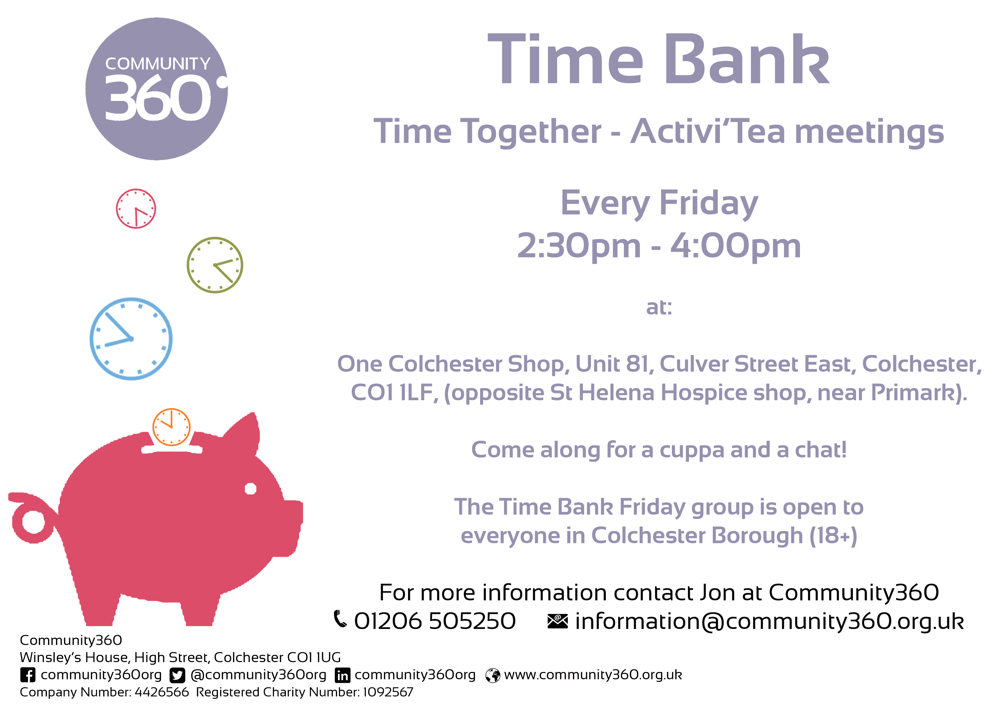 Time bank community360 or why not attend one of our falaconquin